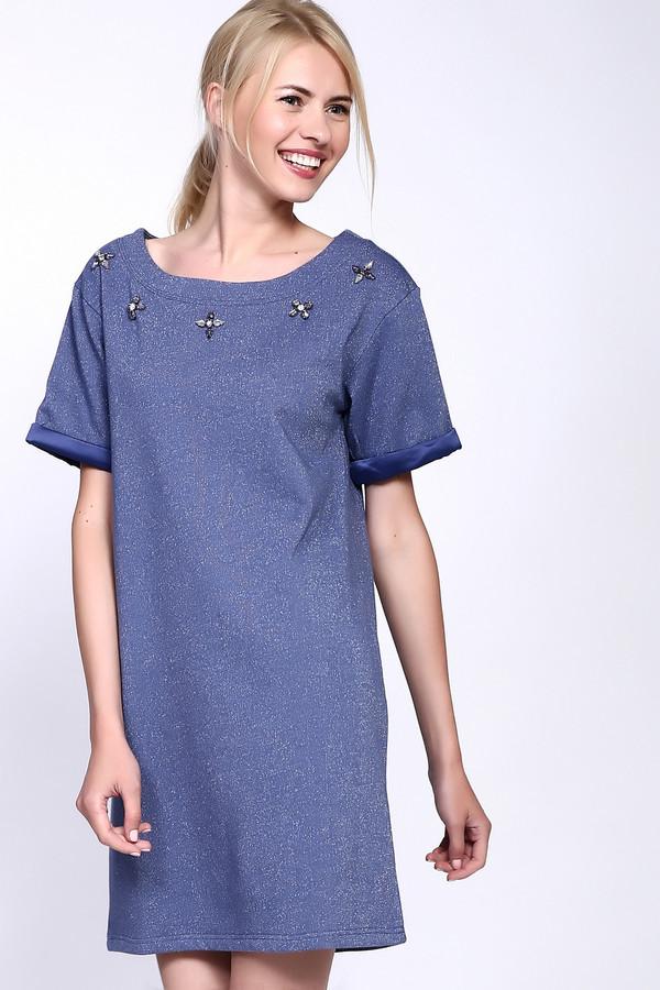 Платье PezzoПлатья<br><br><br>Размер RU: 44<br>Пол: Женский<br>Возраст: Взрослый<br>Материал: хлопок 100%<br>Цвет: Синий