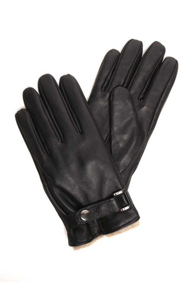 Перчатки PezzoПерчатки<br><br><br>Размер RU: 10<br>Пол: Мужской<br>Возраст: Взрослый<br>Материал: шерсть 50%, кожа 100%, кашемир 50%<br>Цвет: Чёрный