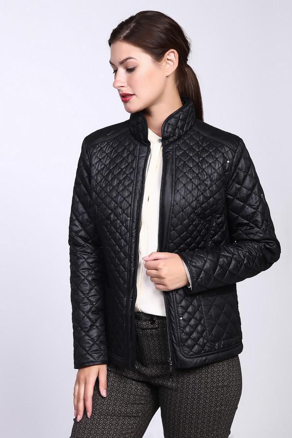 Куртка LebekКуртки<br><br><br>Размер RU: 48<br>Пол: Женский<br>Возраст: Взрослый<br>Материал: полиэстер 100%, Состав_подкладка полиэстер 100%<br>Цвет: Чёрный
