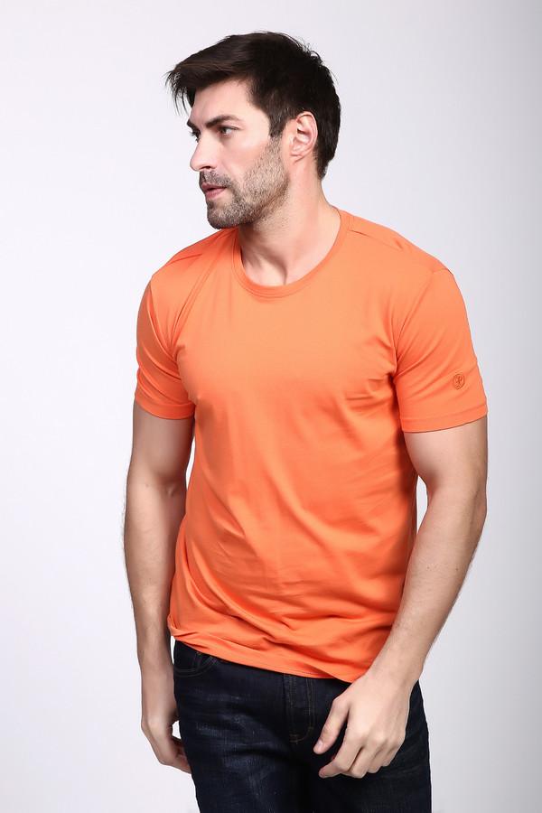 Футболка  Оранжевый цвета