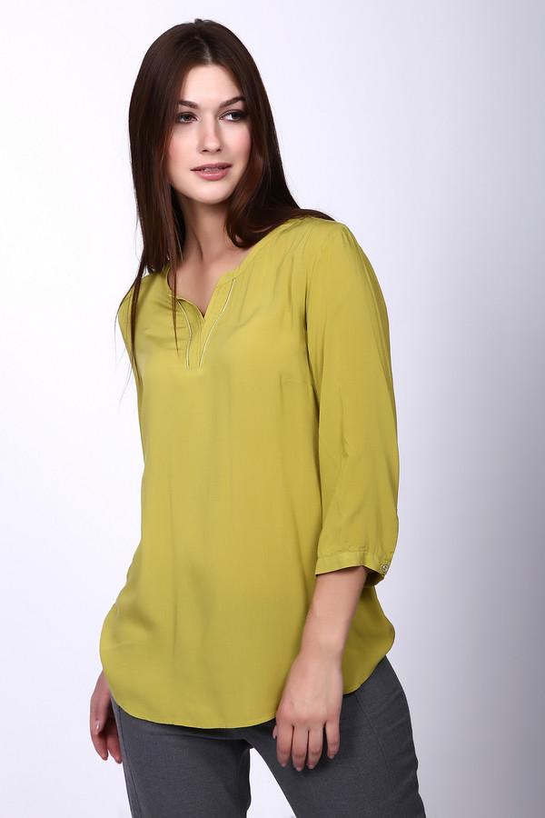 Блузa Betty BarclayБлузы<br><br><br>Размер RU: 46<br>Пол: Женский<br>Возраст: Взрослый<br>Материал: вискоза 100%<br>Цвет: Зелёный