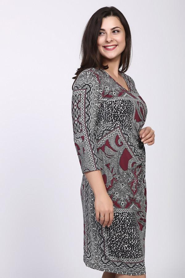 Платье Betty BarclayПлатья<br><br><br>Размер RU: 46<br>Пол: Женский<br>Возраст: Взрослый<br>Материал: полиэстер 97%, эластан 3%, Состав_подкладка полиэстер 100%<br>Цвет: Разноцветный