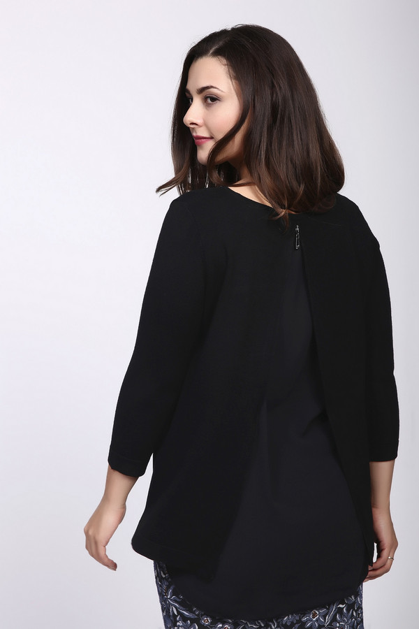 Пуловер Betty BarclayПуловеры<br><br><br>Размер RU: 50<br>Пол: Женский<br>Возраст: Взрослый<br>Материал: полиамид 20%, вискоза 80%<br>Цвет: Чёрный