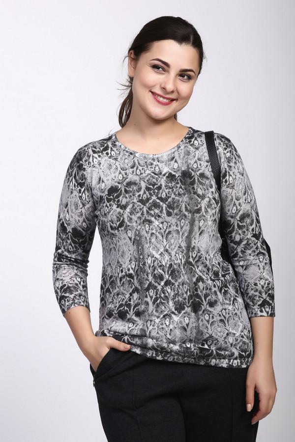 Пуловер Betty BarclayПуловеры<br><br><br>Размер RU: 44<br>Пол: Женский<br>Возраст: Взрослый<br>Материал: хлопок 30%, полиамид 2%, вискоза 18%, лиоцел 50%<br>Цвет: Серый
