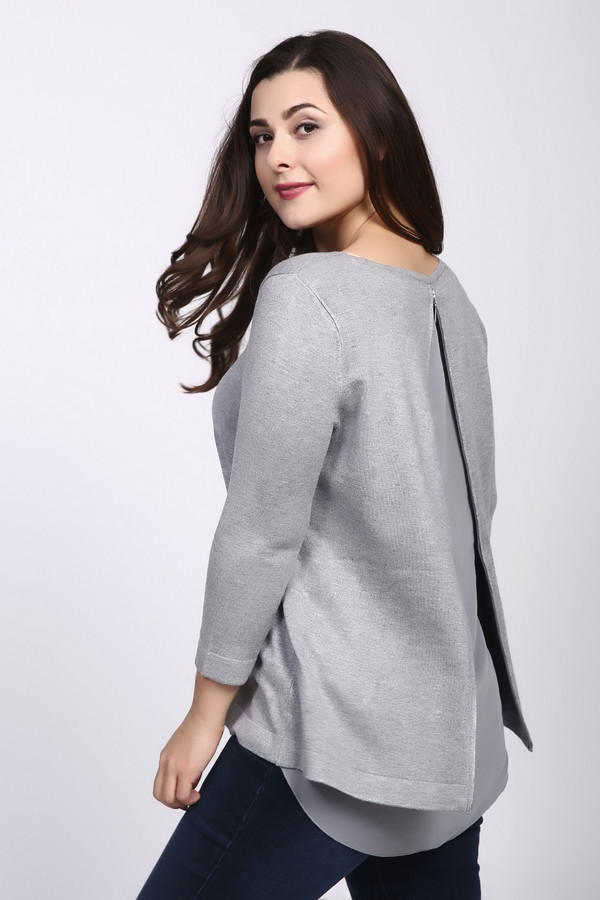 Купить Пуловер Betty Barclay, Китай, Серый, полиамид 20%, вискоза 80%