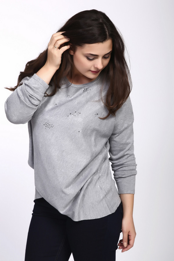 Пуловер Betty BarclayПуловеры<br><br><br>Размер RU: 54<br>Пол: Женский<br>Возраст: Взрослый<br>Материал: полиамид 20%, вискоза 80%<br>Цвет: Серый