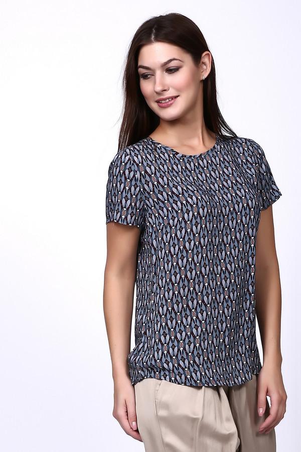 Блузa Betty and CoБлузы<br>Блуза Бетти Барклай серого цвета имеет геометрический разноцветный рисунок. Ворот округлый заканчивается застежкой в виде пуговицы. Рукава втачные, короткие. Низ блузки подшит полукругом. Покрой модели свободный. Сочетание серого цвета с разноцветным принтом дает возможность выглядеть нарядно и проявить фантазию в сочетании с другими деталями гардероба.<br><br>Размер RU: 44<br>Пол: Женский<br>Возраст: Взрослый<br>Материал: вискоза 100%<br>Цвет: Разноцветный