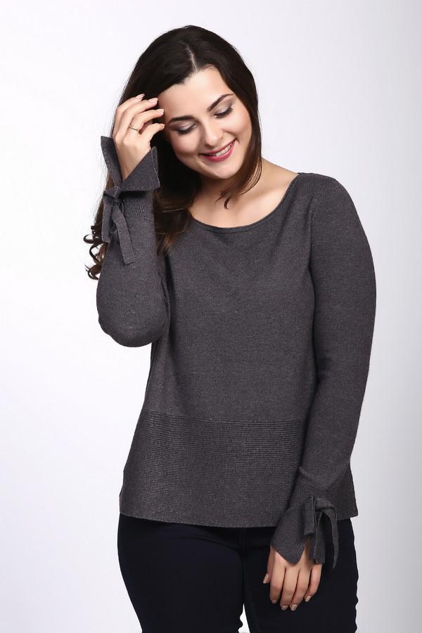 Пуловер CommaПуловеры<br><br><br>Размер RU: 46<br>Пол: Женский<br>Возраст: Взрослый<br>Материал: полиэстер 28%, шерсть 10%, вискоза 62%<br>Цвет: Серый