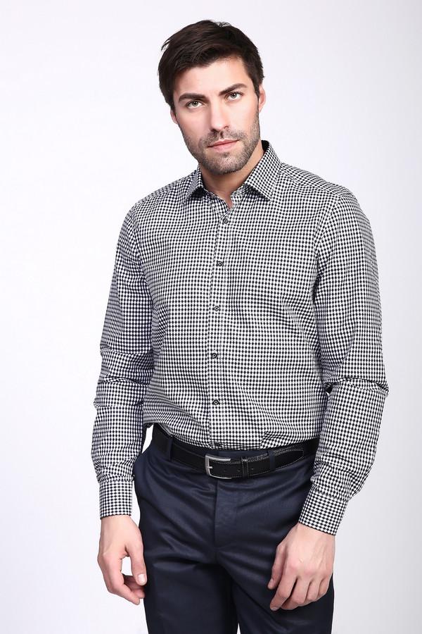 Рубашка с длинным рукавом OlympДлинный рукав<br><br><br>Размер RU: 41<br>Пол: Мужской<br>Возраст: Взрослый<br>Материал: хлопок 100%<br>Цвет: Серый