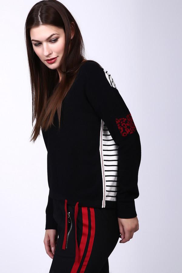 Пуловер OuiПуловеры<br><br><br>Размер RU: 40<br>Пол: Женский<br>Возраст: Взрослый<br>Материал: хлопок 100%<br>Цвет: Разноцветный