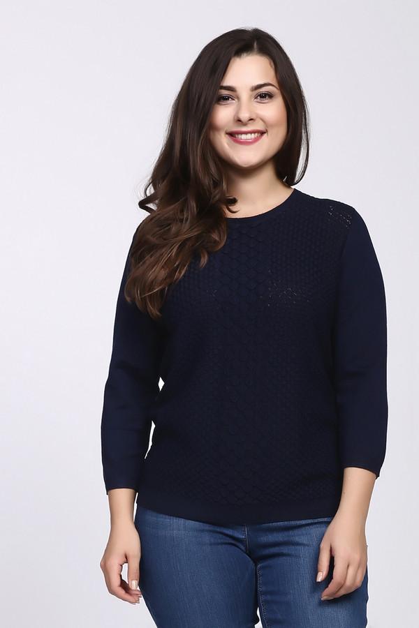 Пуловер Rabe collectionПуловеры<br><br><br>Размер RU: 48<br>Пол: Женский<br>Возраст: Взрослый<br>Материал: вискоза 70%, полиамид 30%<br>Цвет: Синий