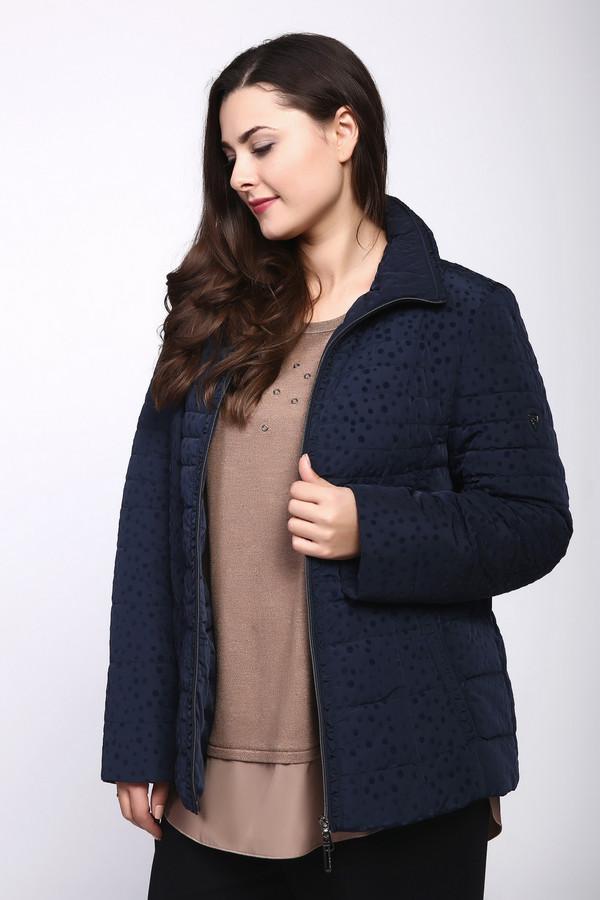 Куртка LebekКуртки<br><br><br>Размер RU: 48<br>Пол: Женский<br>Возраст: Взрослый<br>Материал: полиэстер 100%, Состав_подкладка полиэстер 100%<br>Цвет: Синий