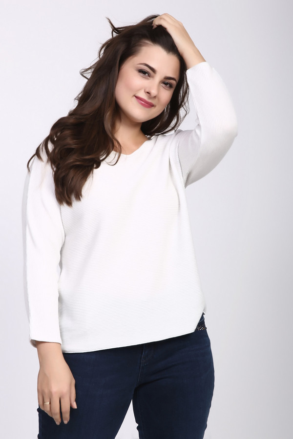 Пуловер MonariПуловеры<br><br><br>Размер RU: 46<br>Пол: Женский<br>Возраст: Взрослый<br>Материал: хлопок 50%, акрил 50%<br>Цвет: Белый