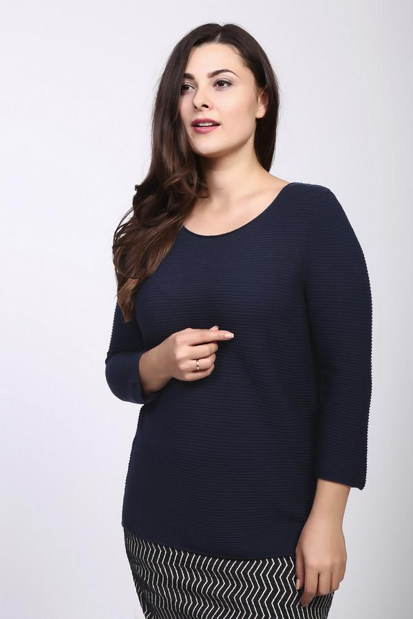 Пуловер MonariПуловеры<br><br><br>Размер RU: 48<br>Пол: Женский<br>Возраст: Взрослый<br>Материал: хлопок 50%, полиакрил 50%<br>Цвет: Синий