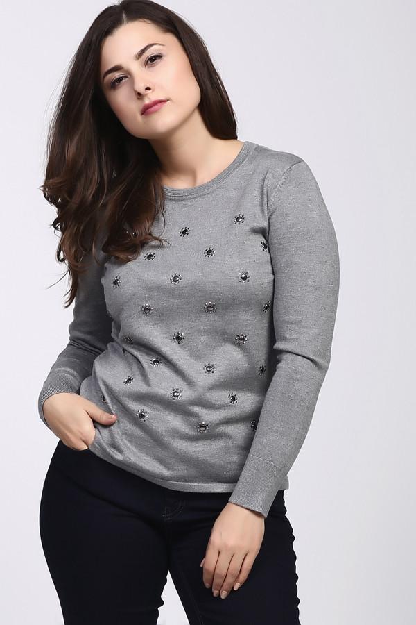 Пуловер Rabe collectionПуловеры<br><br><br>Размер RU: 50<br>Пол: Женский<br>Возраст: Взрослый<br>Материал: вискоза 70%, полиамид 30%<br>Цвет: Серый