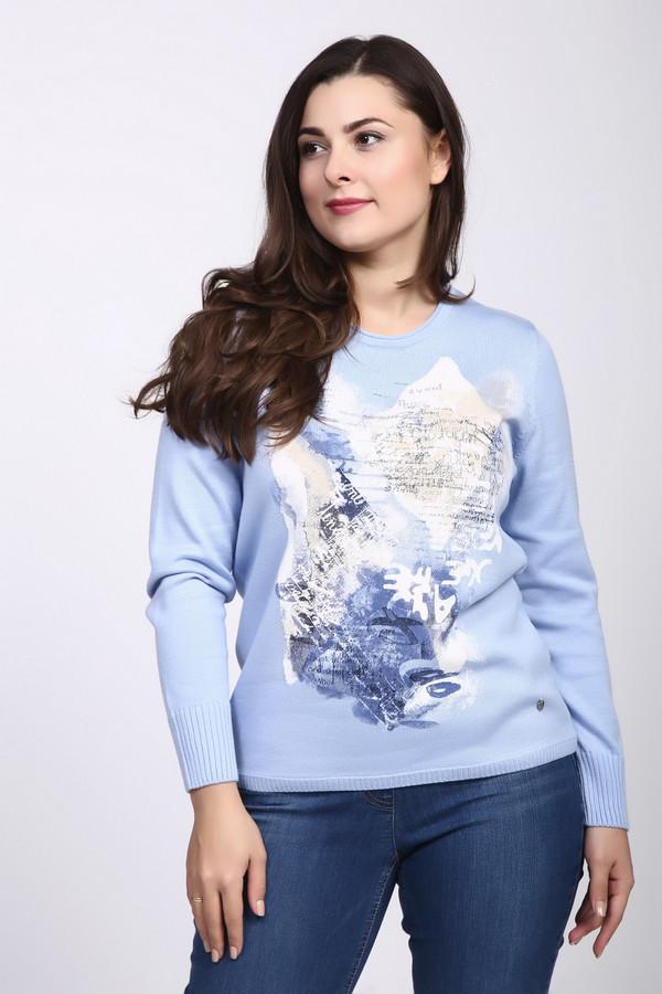 Пуловер Rabe collectionПуловеры<br><br><br>Размер RU: 46<br>Пол: Женский<br>Возраст: Взрослый<br>Материал: хлопок 50%, полиакрил 50%<br>Цвет: Голубой
