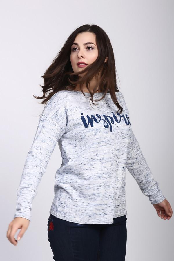 Пуловер Gerry WeberПуловеры<br><br><br>Размер RU: 46<br>Пол: Женский<br>Возраст: Взрослый<br>Материал: хлопок 100%<br>Цвет: Голубой