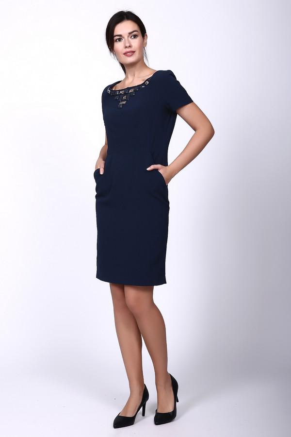 Платье Just ValeriПлатья<br><br><br>Размер RU: 52<br>Пол: Женский<br>Возраст: Взрослый<br>Материал: эластан 4%, полиэстер 96%, Состав_подкладка полиэстер 100%<br>Цвет: Синий