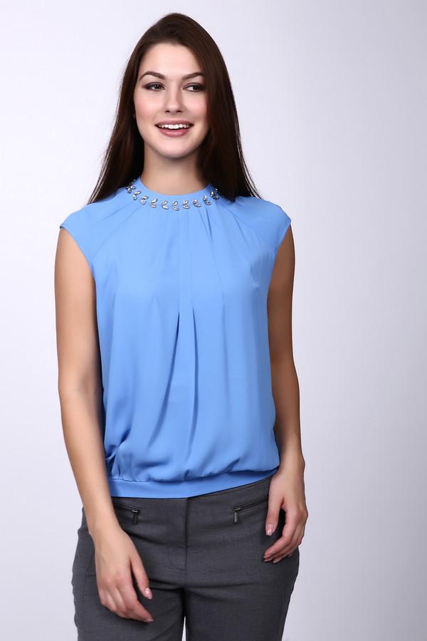 Блузa Just ValeriБлузы<br><br><br>Размер RU: 42<br>Пол: Женский<br>Возраст: Взрослый<br>Материал: полиэстер 100%<br>Цвет: Голубой