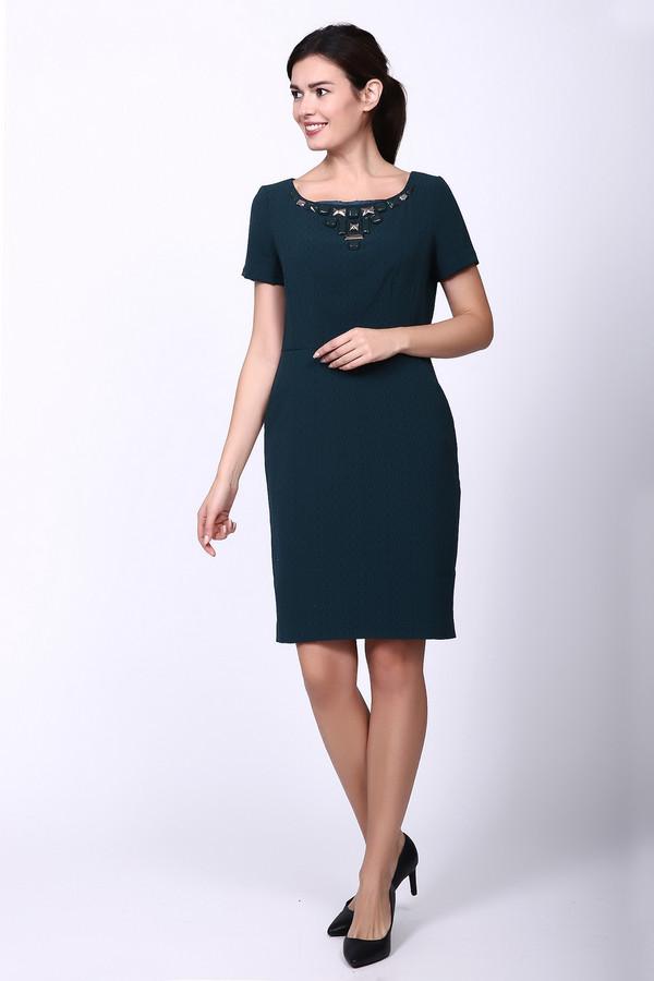 Купить Платье Just Valeri, Китай, Зелёный, эластан 4%, полиэстер 96%, Состав_подкладка полиэстер 100%