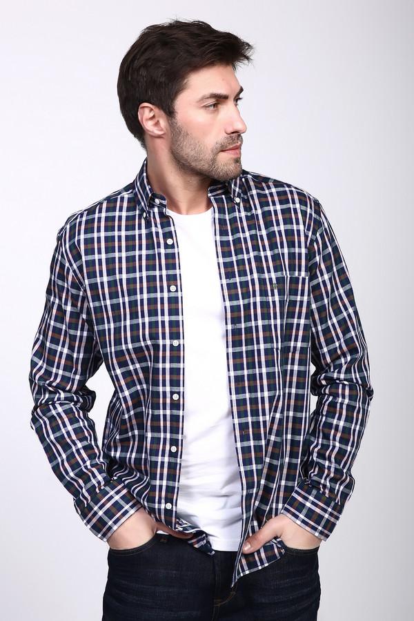Рубашка с длинным рукавом PezzoДлинный рукав<br><br><br>Размер RU: 44<br>Пол: Мужской<br>Возраст: Взрослый<br>Материал: хлопок 100%<br>Цвет: Разноцветный
