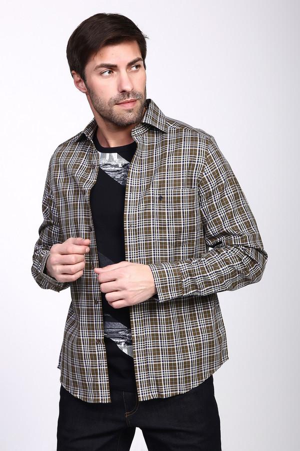 Рубашка с длинным рукавом PezzoДлинный рукав<br><br><br>Размер RU: 42<br>Пол: Мужской<br>Возраст: Взрослый<br>Материал: хлопок 100%<br>Цвет: Разноцветный