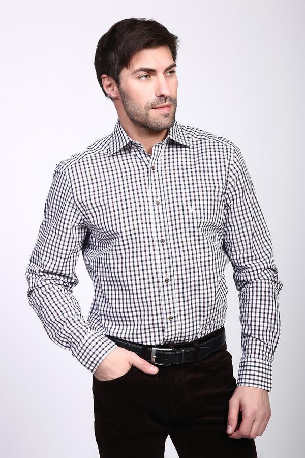 Рубашка с длинным рукавом PezzoДлинный рукав<br><br><br>Размер RU: 45<br>Пол: Мужской<br>Возраст: Взрослый<br>Материал: хлопок 100%<br>Цвет: Разноцветный