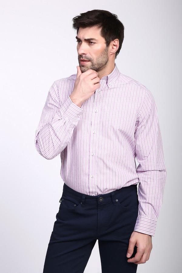 Рубашка с длинным рукавом Just ValeriДлинный рукав<br><br><br>Размер RU: 42<br>Пол: Мужской<br>Возраст: Взрослый<br>Материал: хлопок 100%<br>Цвет: Разноцветный