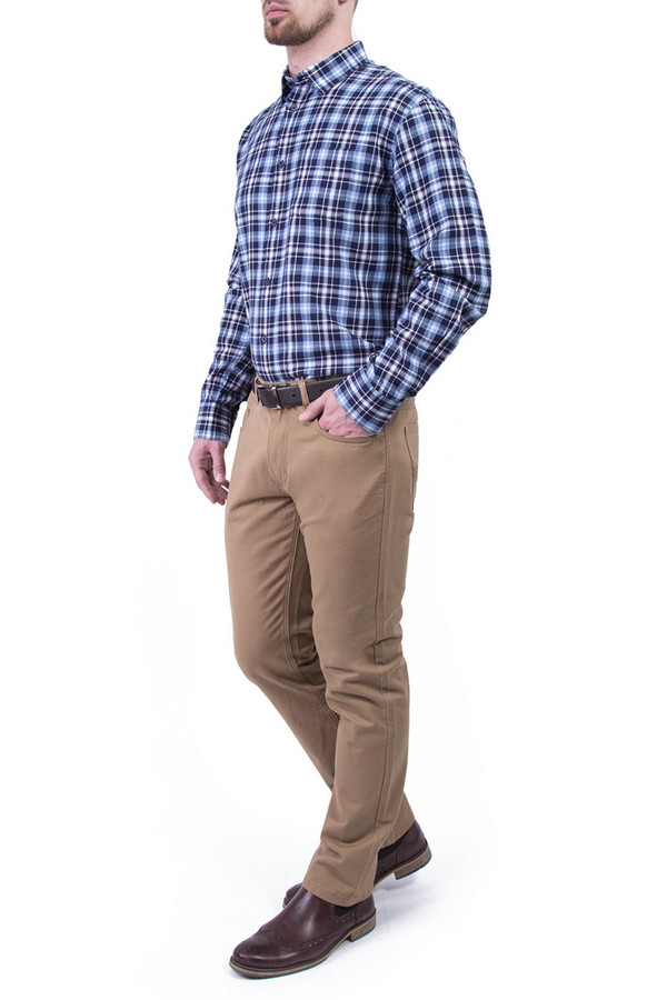 Рубашка Greg HormanРубашки и сорочки<br><br><br>Размер RU: 46-48<br>Пол: Мужской<br>Возраст: Взрослый<br>Материал: хлопок 100%<br>Цвет: Синий