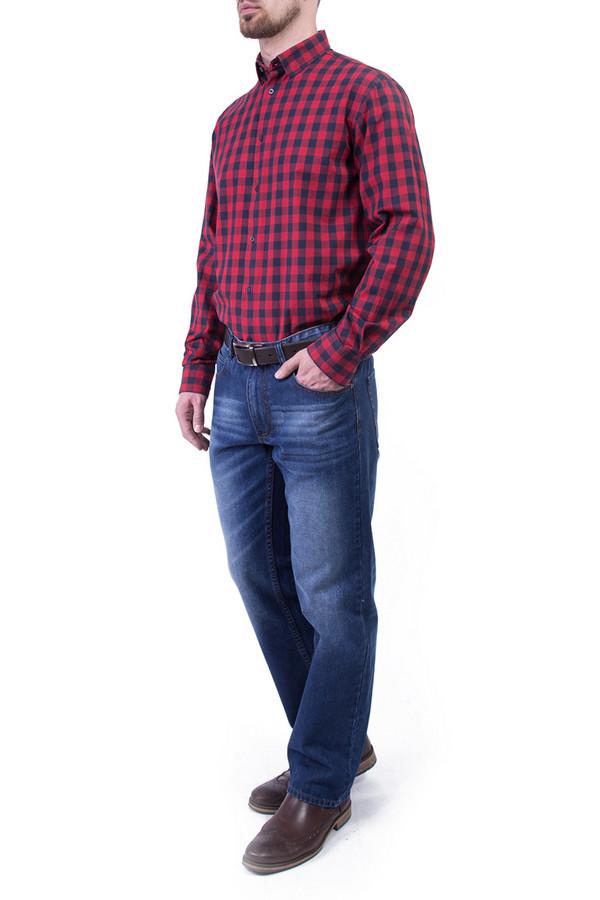 Рубашка Greg HormanРубашки и сорочки<br><br><br>Размер RU: 54<br>Пол: Мужской<br>Возраст: Взрослый<br>Материал: хлопок 100%<br>Цвет: Красный