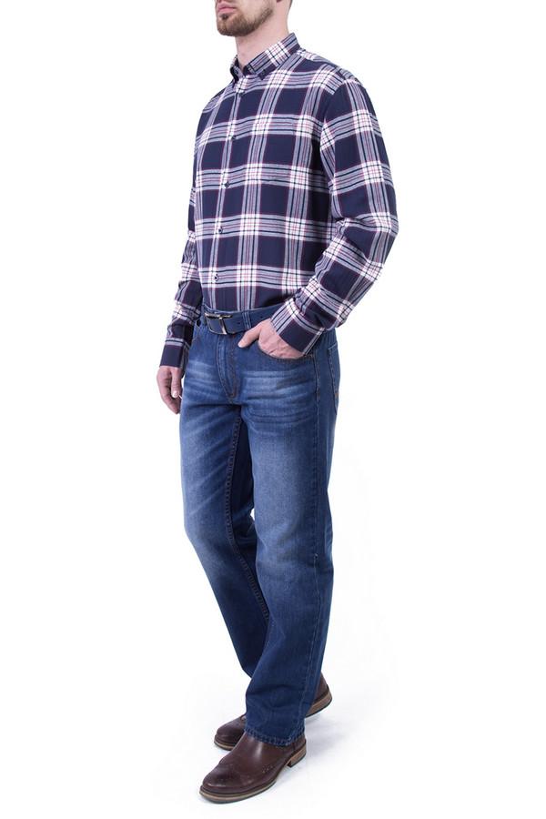 Рубашка Greg HormanРубашки и сорочки<br><br><br>Размер RU: 52<br>Пол: Мужской<br>Возраст: Взрослый<br>Материал: хлопок 100%<br>Цвет: Синий