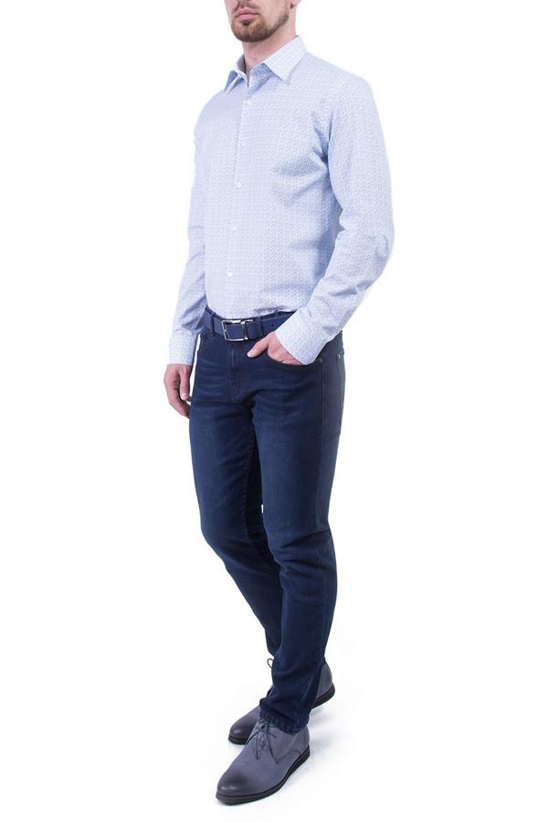 Рубашка Greg HormanРубашки и сорочки<br><br><br>Размер RU: 48<br>Пол: Мужской<br>Возраст: Взрослый<br>Материал: хлопок 100%<br>Цвет: Голубой