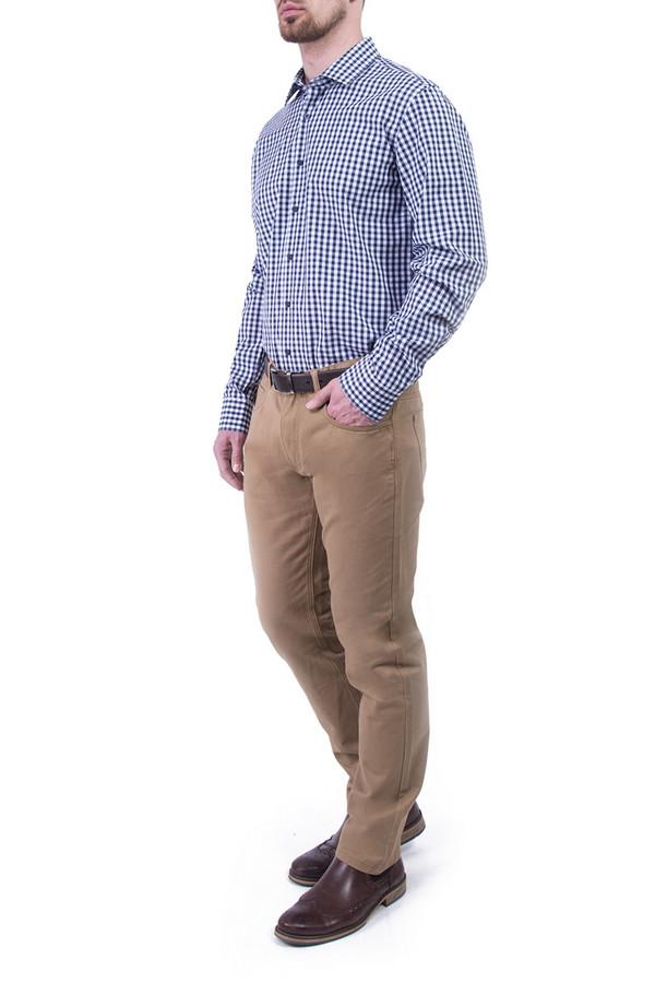 Рубашка Greg HormanРубашки и сорочки<br><br><br>Размер RU: 48<br>Пол: Мужской<br>Возраст: Взрослый<br>Материал: хлопок 100%<br>Цвет: Синий
