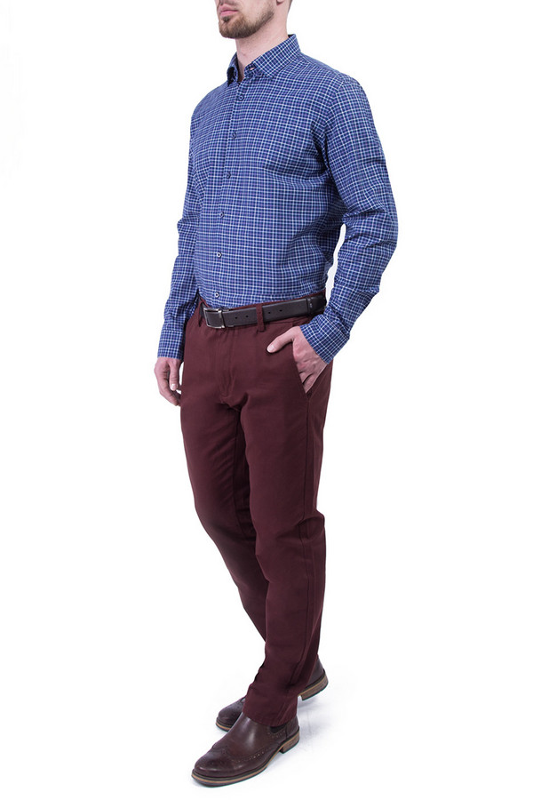 Рубашка Greg HormanРубашки и сорочки<br><br><br>Размер RU: 50<br>Пол: Мужской<br>Возраст: Взрослый<br>Материал: хлопок 100%<br>Цвет: Синий