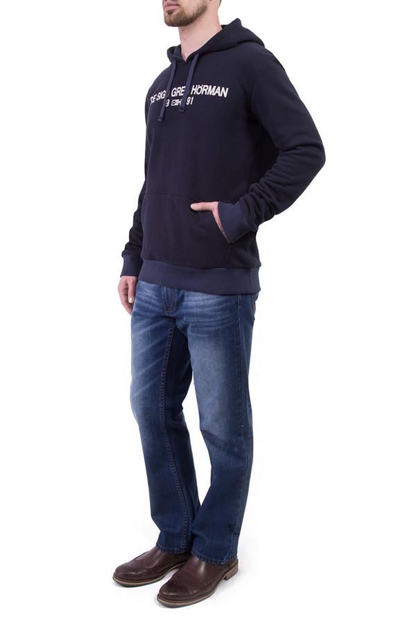 Джемпер Greg HormanДжемперы и Пуловеры<br><br><br>Размер RU: 56<br>Пол: Мужской<br>Возраст: Взрослый<br>Материал: полиэстер 20%, хлопок 80%<br>Цвет: Синий