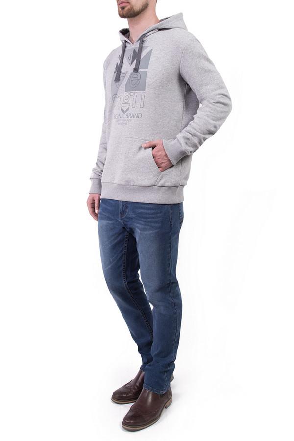 Джемпер Greg HormanДжемперы и Пуловеры<br><br><br>Размер RU: 46<br>Пол: Мужской<br>Возраст: Взрослый<br>Материал: полиэстер 30%, хлопок 70%<br>Цвет: Серый