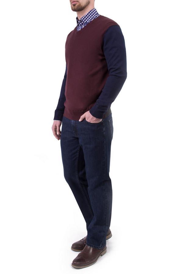 Джемпер Greg HormanДжемперы и Пуловеры<br><br><br>Размер RU: 48<br>Пол: Мужской<br>Возраст: Взрослый<br>Материал: хлопок 60%, шерсть 10%, нейлон 30%<br>Цвет: Разноцветный