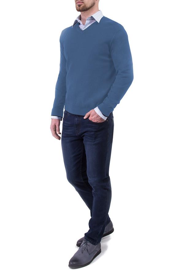 Джемпер Greg HormanДжемперы<br><br><br>Размер RU: 46<br>Пол: Мужской<br>Возраст: Взрослый<br>Материал: хлопок 60%, шерсть 10%, нейлон 30%<br>Цвет: Синий