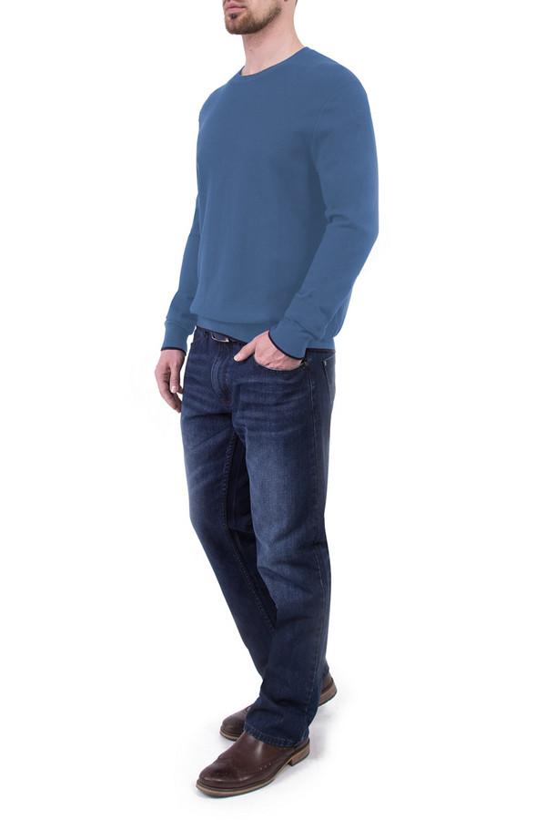 Джемпер Greg HormanДжемперы<br><br><br>Размер RU: 56<br>Пол: Мужской<br>Возраст: Взрослый<br>Материал: хлопок 60%, шерсть 10%, нейлон 30%<br>Цвет: Синий