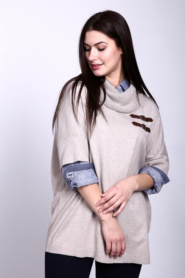 Пуловер Betty BarclayПуловеры<br><br><br>Размер RU: 46<br>Пол: Женский<br>Возраст: Взрослый<br>Материал: полиамид 30%, шерсть 5%, вискоза 45%, хлопок 20%<br>Цвет: Бежевый
