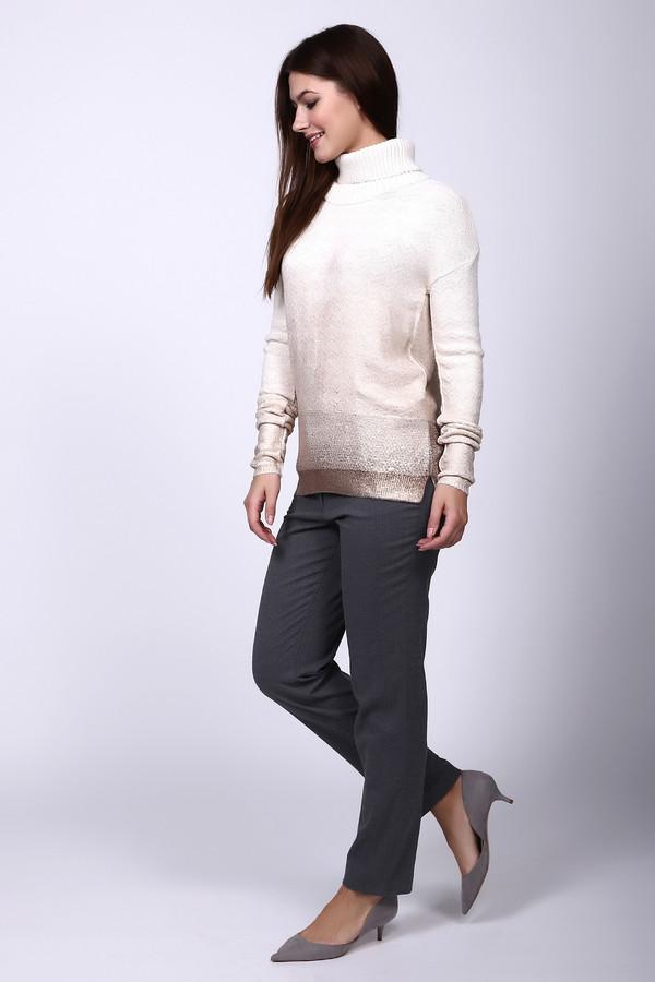 женские классические брюки betty barclay, серые