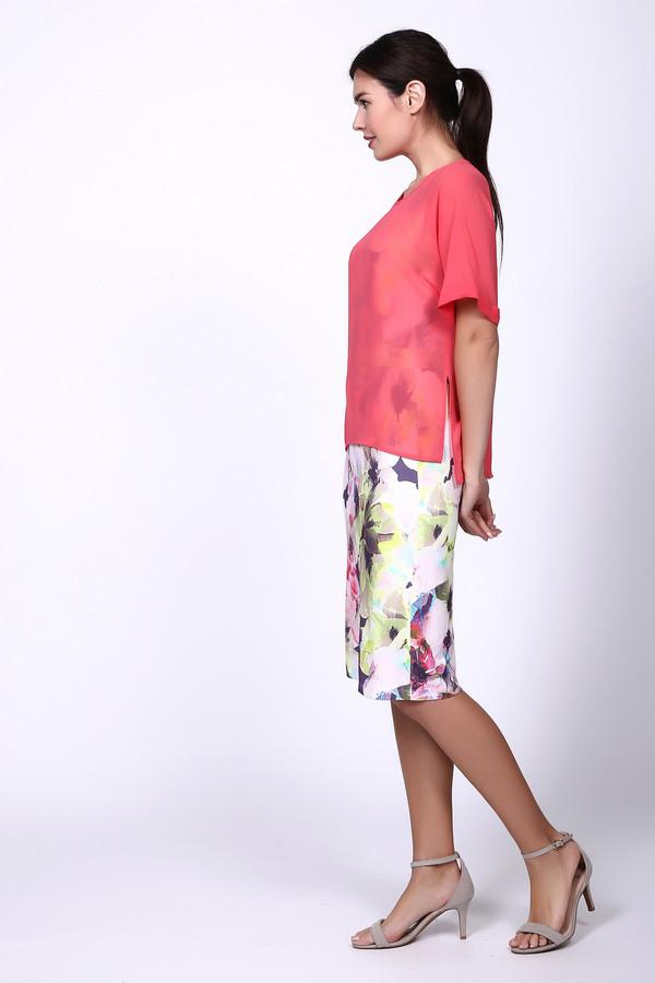 Платье BaslerПлатья<br><br><br>Размер RU: 48<br>Пол: Женский<br>Возраст: Взрослый<br>Материал: эластан 4%, вискоза 96%<br>Цвет: Разноцветный