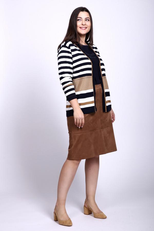 женская юбка steilmann, коричневая