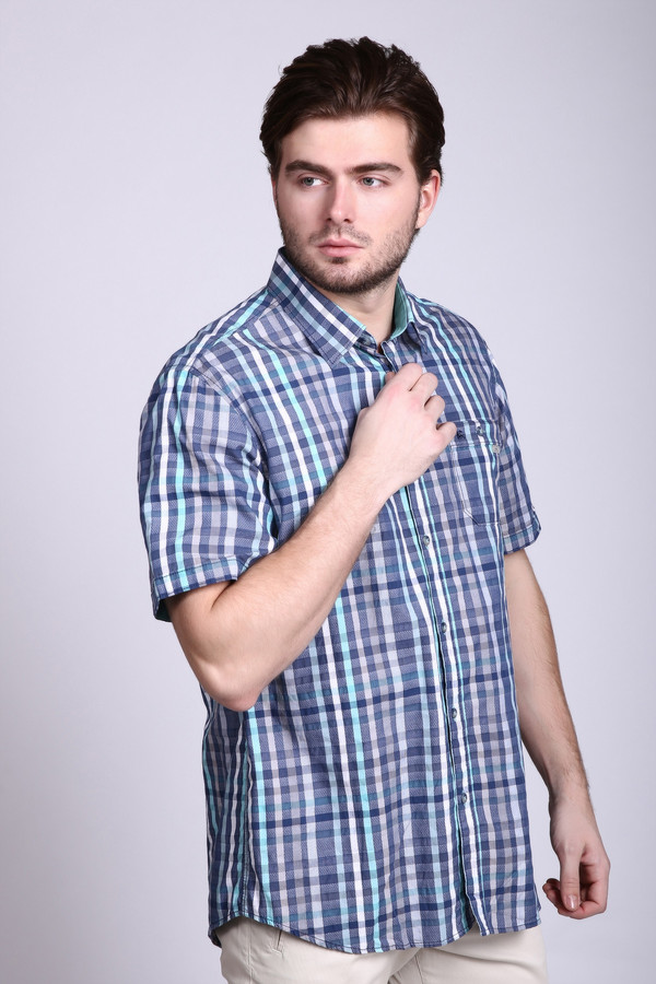 Мужские рубашки с коротким рукавом LerrosКороткий рукав<br>