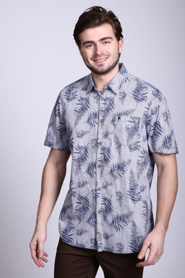 Мужские рубашки с коротким рукавом LerrosКороткий рукав<br><br><br>Размер RU: 39-40<br>Пол: Мужской<br>Возраст: Взрослый<br>Материал: хлопок 100%<br>Цвет: Разноцветный