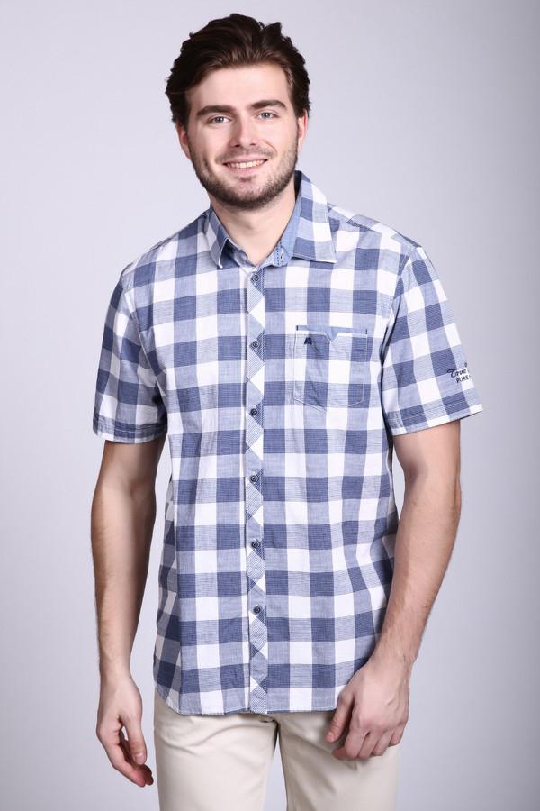 Купить со скидкой Мужские рубашки с коротким рукавом Lerros