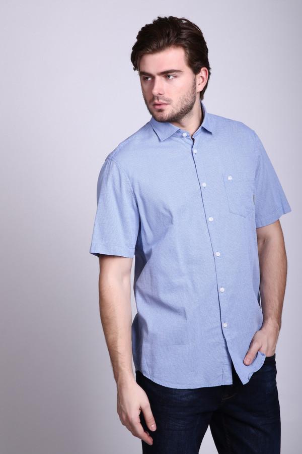 Мужские рубашки с коротким рукавом LerrosКороткий рукав<br><br><br>Размер RU: 45-46<br>Пол: Мужской<br>Возраст: Взрослый<br>Материал: хлопок 100%<br>Цвет: Голубой