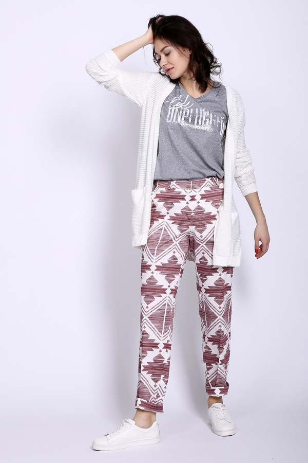 женские брюки comma, разноцветные