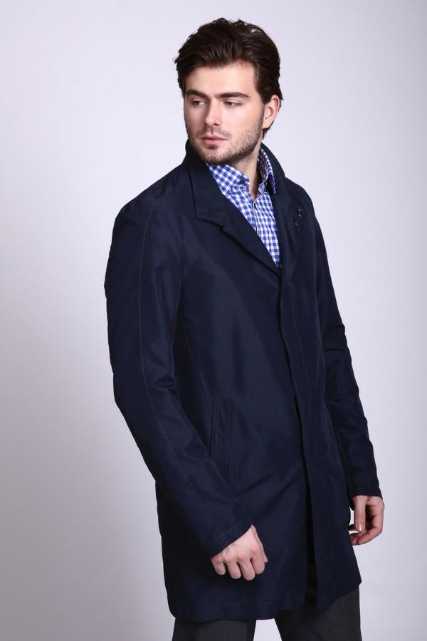 Пальто CinqueПальто<br><br><br>Размер RU: 50<br>Пол: Мужской<br>Возраст: Взрослый<br>Материал: полиэстер 100%<br>Цвет: Синий