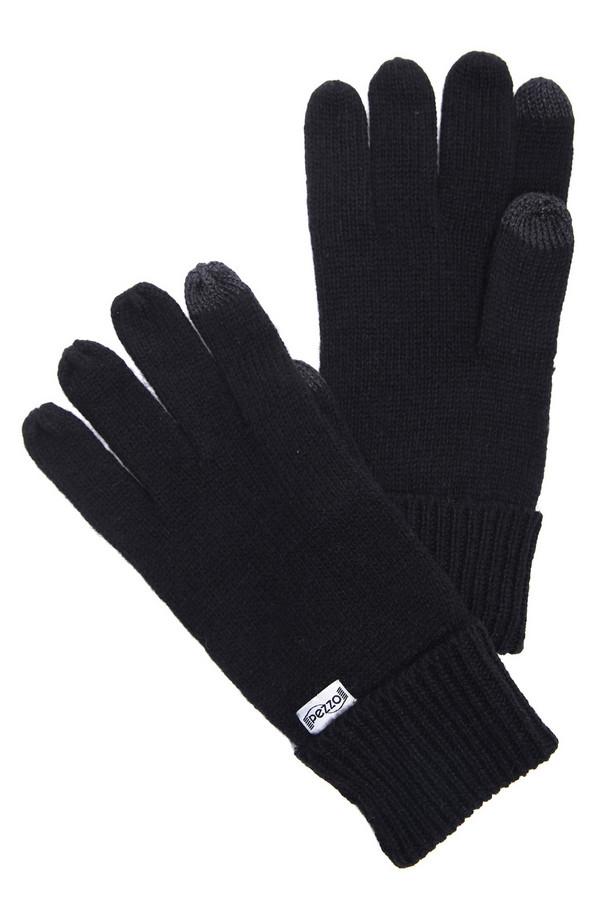 Перчатки PezzoПерчатки<br><br><br>Размер RU: один размер<br>Пол: Мужской<br>Возраст: Взрослый<br>Материал: шерсть 50%, акрил 50%<br>Цвет: Чёрный